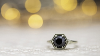 black diamonds banner