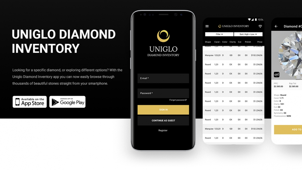 uniglo app