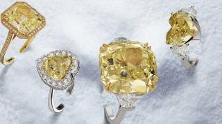 yellow diamonds banner
